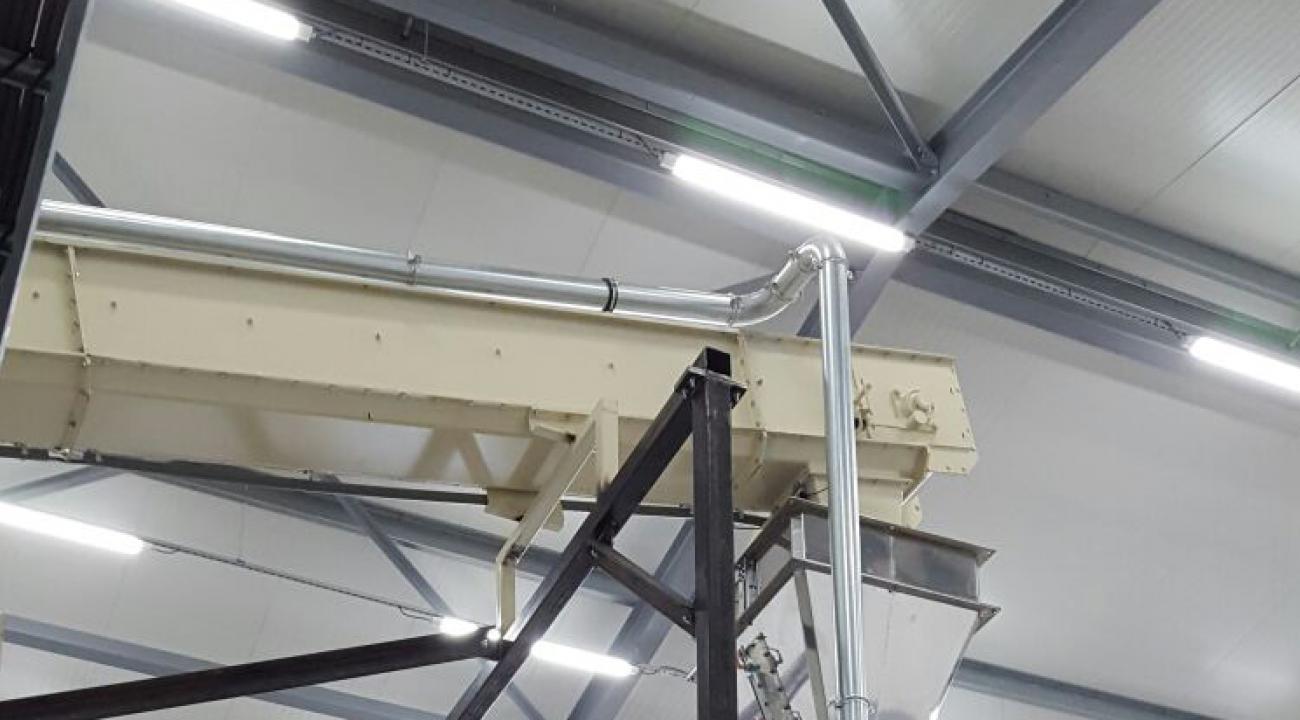 Q-redler + automatische afzaklijn